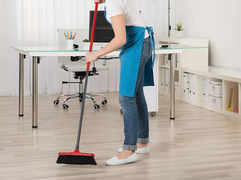Broom for Hardwood Floors