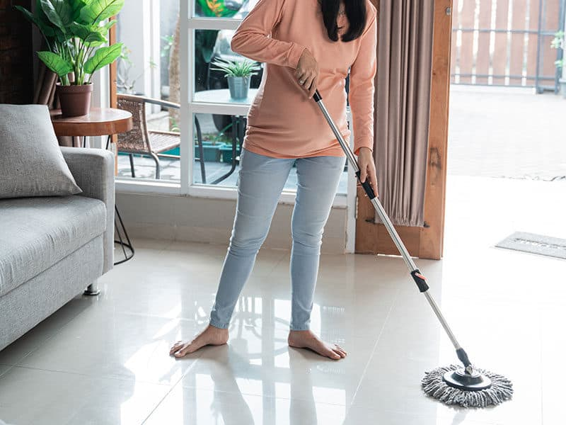 Spin Mops in Home