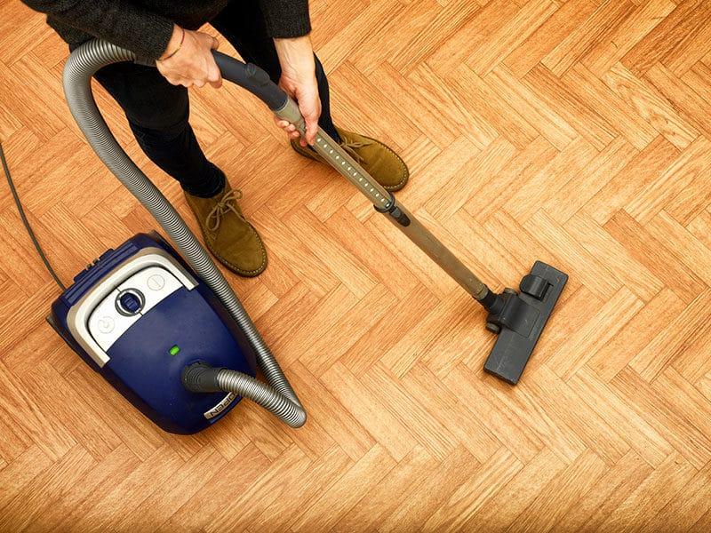Vacuum Hardwood Floors