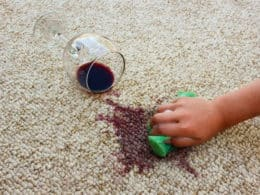 Remove a Stain out of Carpets