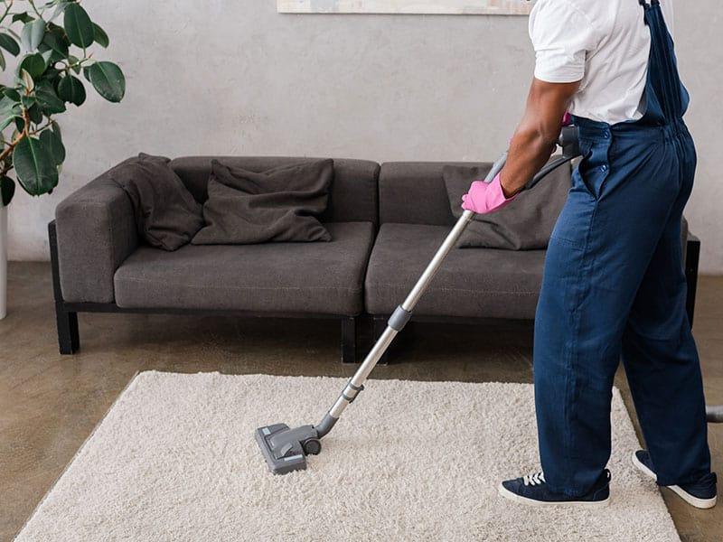 Vacuum for Smart Strand Silk Carpet