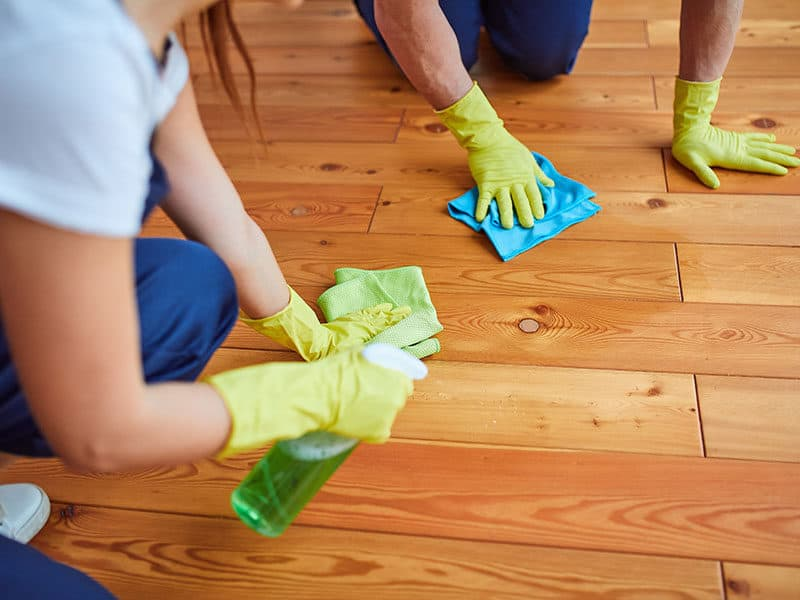 Hardwood Floor Polishes