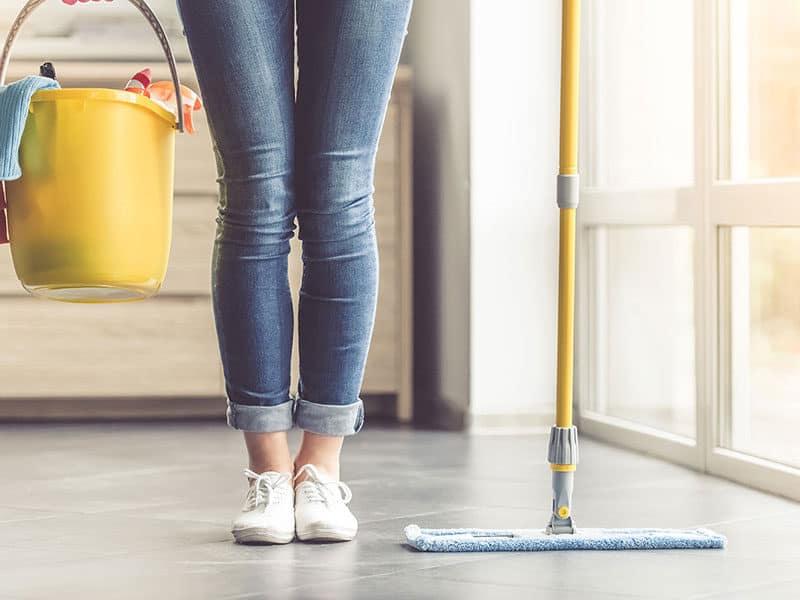 Mop for Concrete Floors