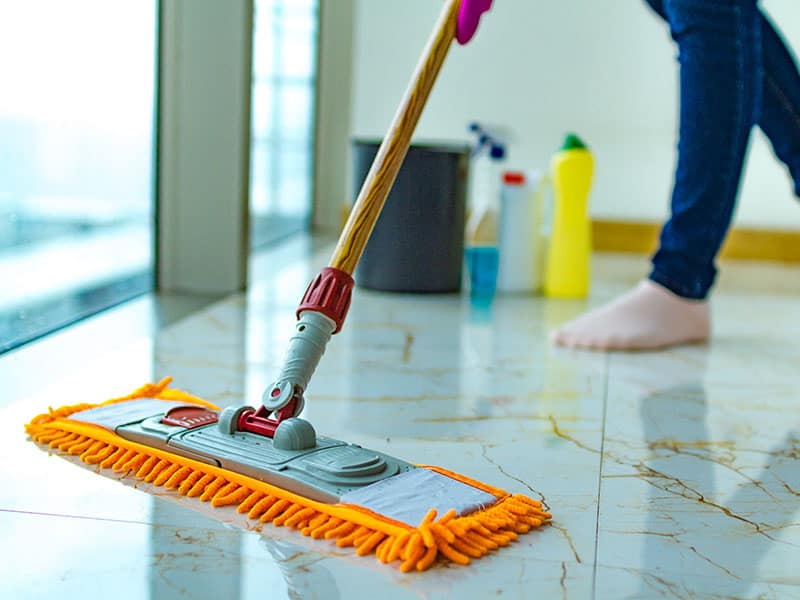 Mops for Concrete Floors