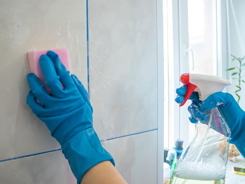 Shower Tile Cleaner