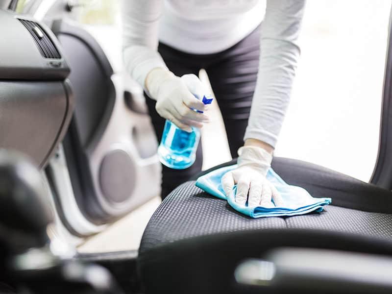 Cleansing Car Interior