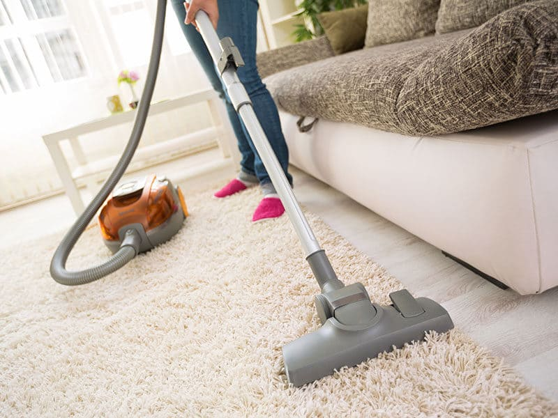 Vacuum for Frieze Carpet