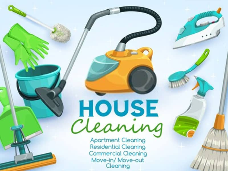 Much housework is waiting for the homemakers' day-by-day.