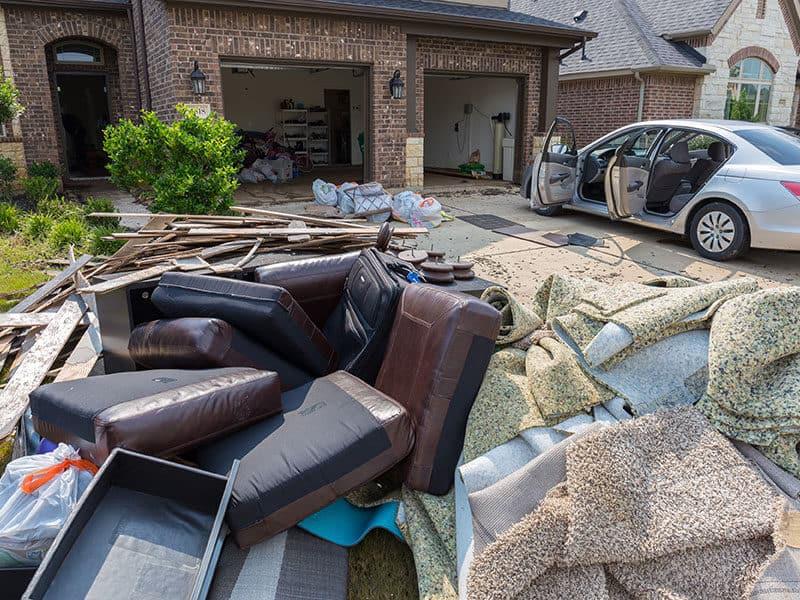 Carpet Gets Wet after Floods