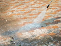 Clean Concrete Floor