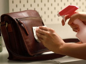 Cleaning Surface Leather Bag