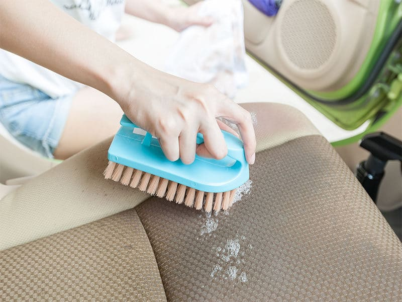 Detergent Cloth Car Seat