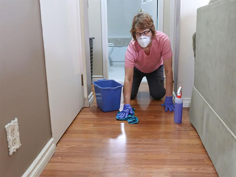Get Rid Stain The Floor