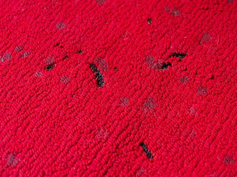 Incense Candle Burn Marks on Carpet