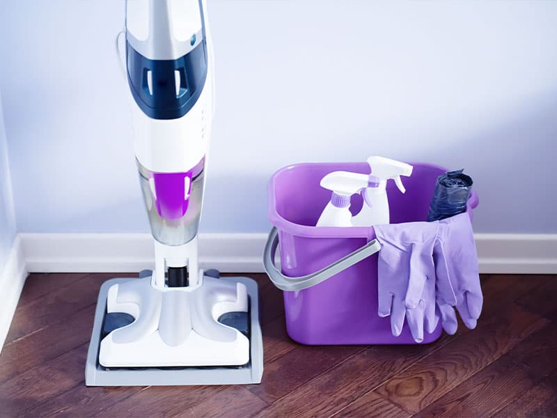 Keeping the steam mop clean is key to keeping the home clean!