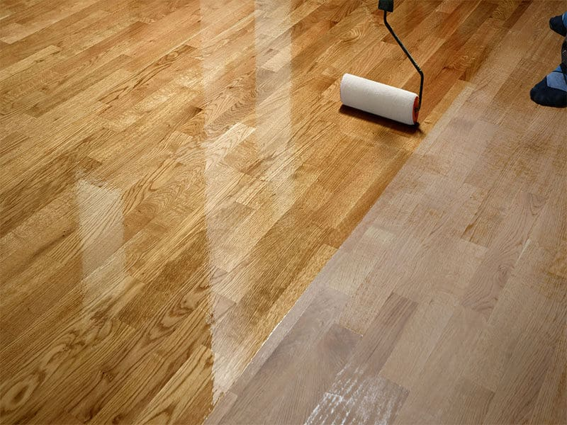 Lacquering Wood Floors
