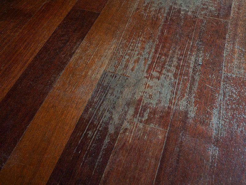 Old Scratched Surface Hardwood Flooring