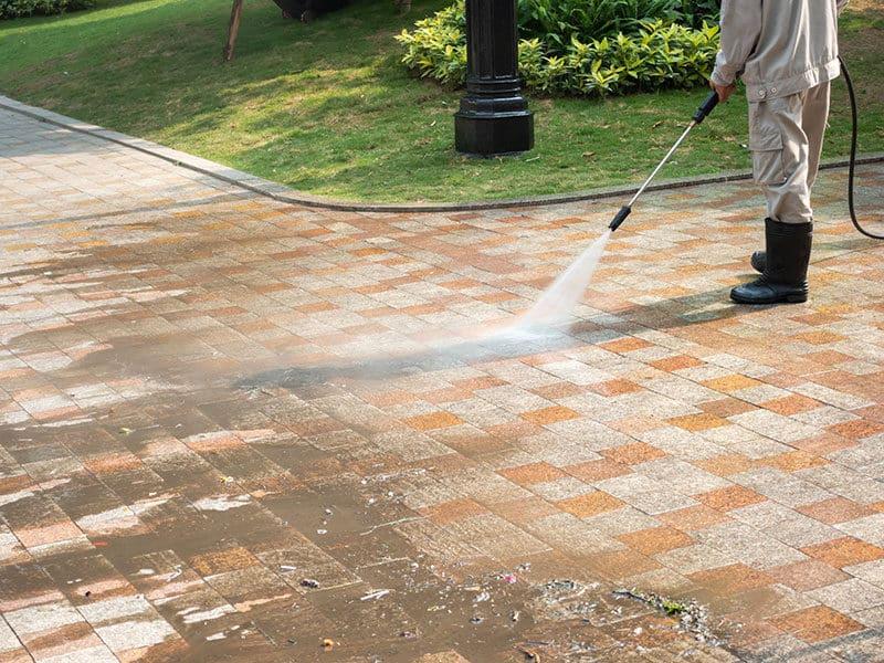 Outdoor Floor Cleaning