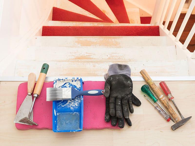 Removing Carpet Glue Set