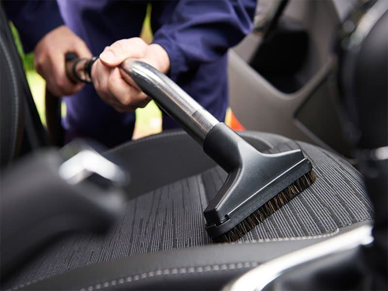 Seat Car During Cleaning