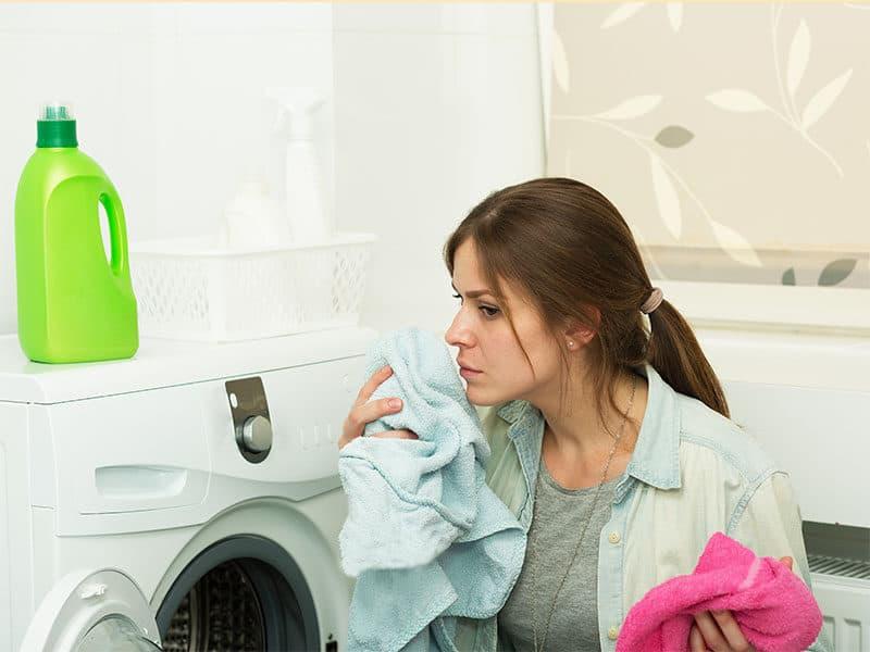 Smells Mold Washing Machine
