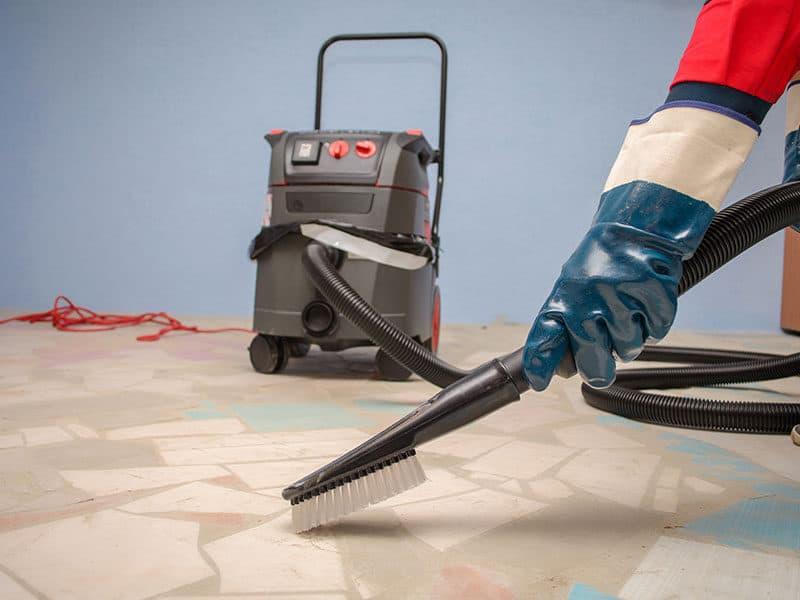 Vacuuming Construction