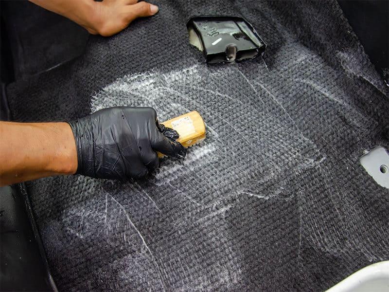 Wash Car Carpet Interior