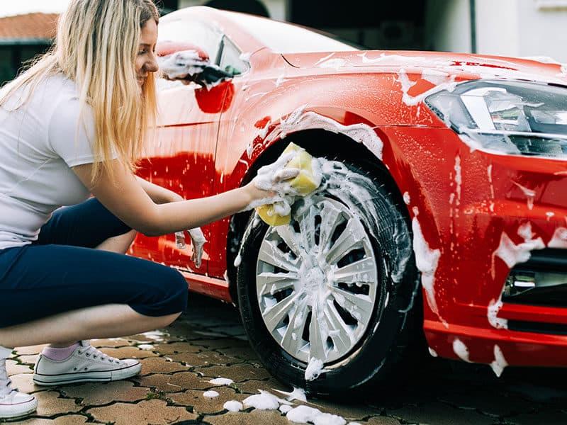 Washing Car Sponge