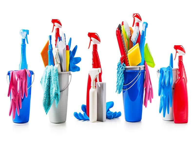 Bucket Cleaning Supplies
