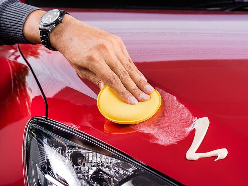 Car Care Polishing Red