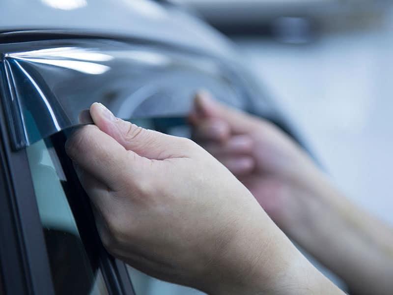 Deflectors Side Windows Car