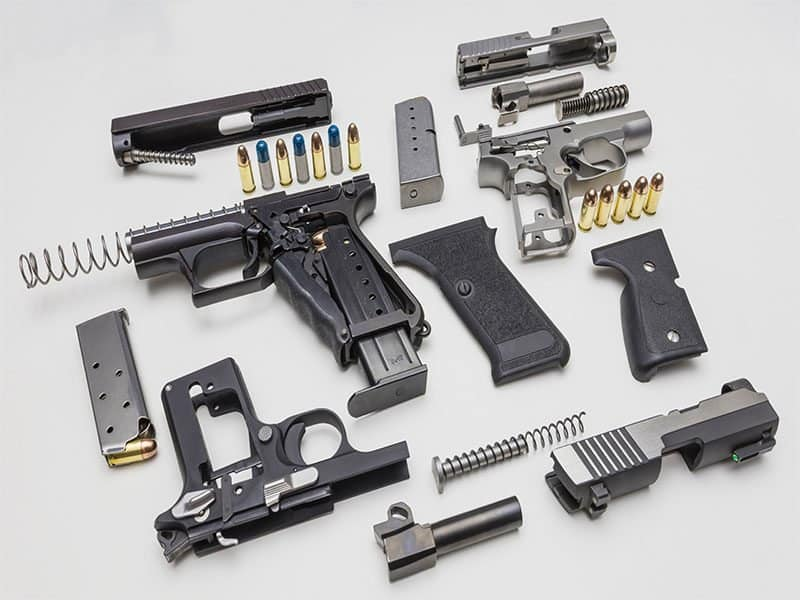 Hand Guns Assembly