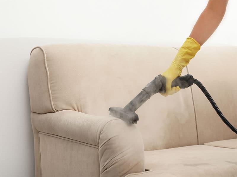 Removing Dirt Sofa Steam