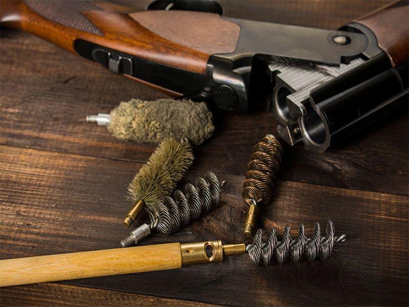 Rifle Ramrod Set Cleaning