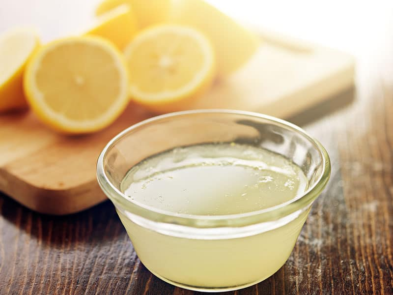 Squeezed Lemon Juice