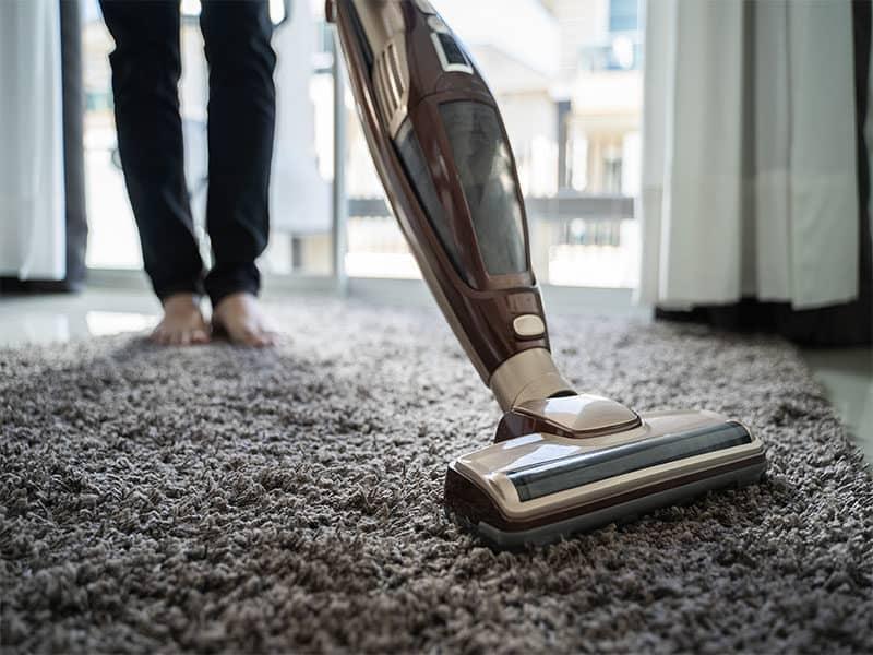 Using Vacuum Cleaner