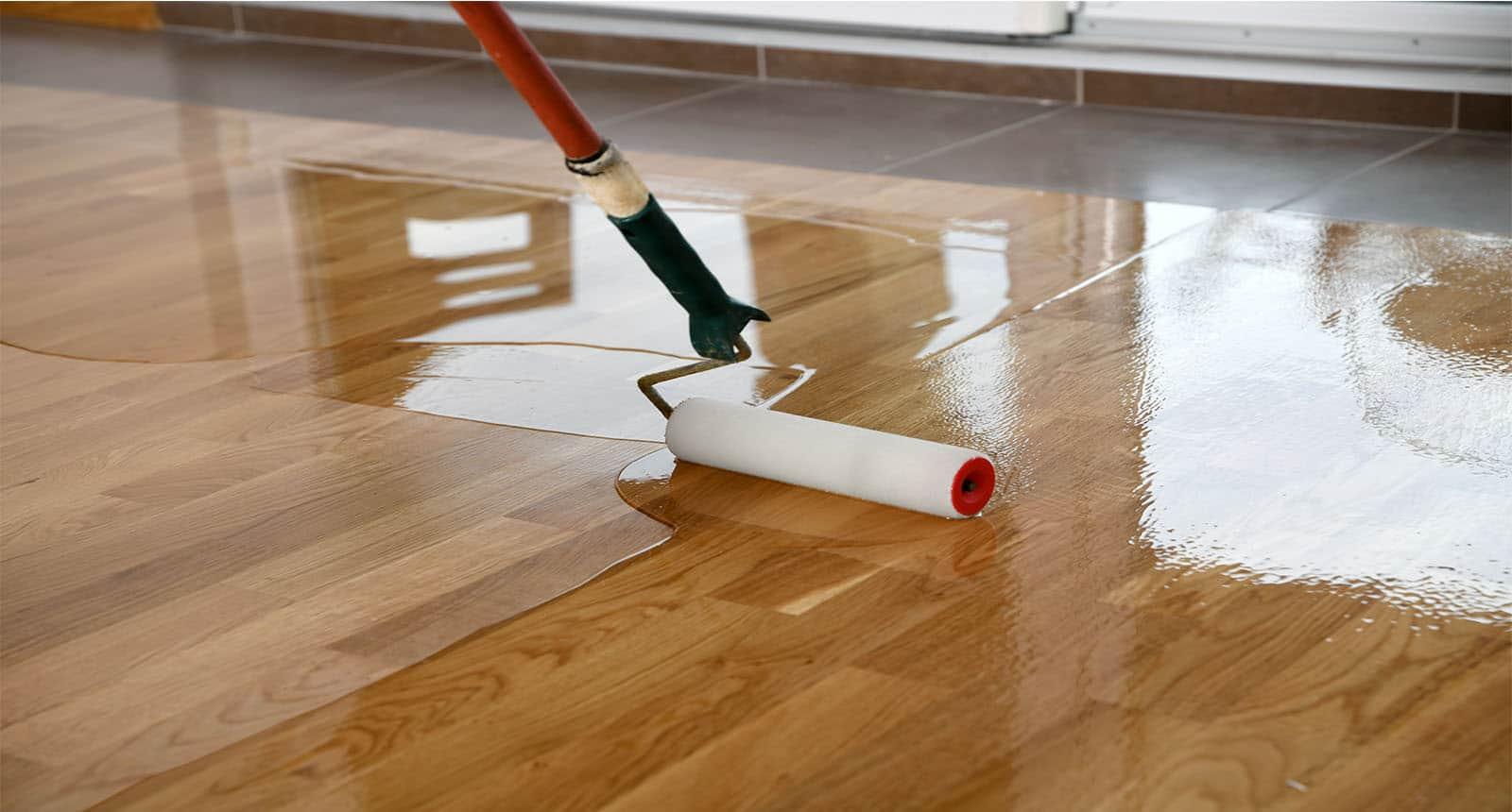 Acquering Wood Floors Roller