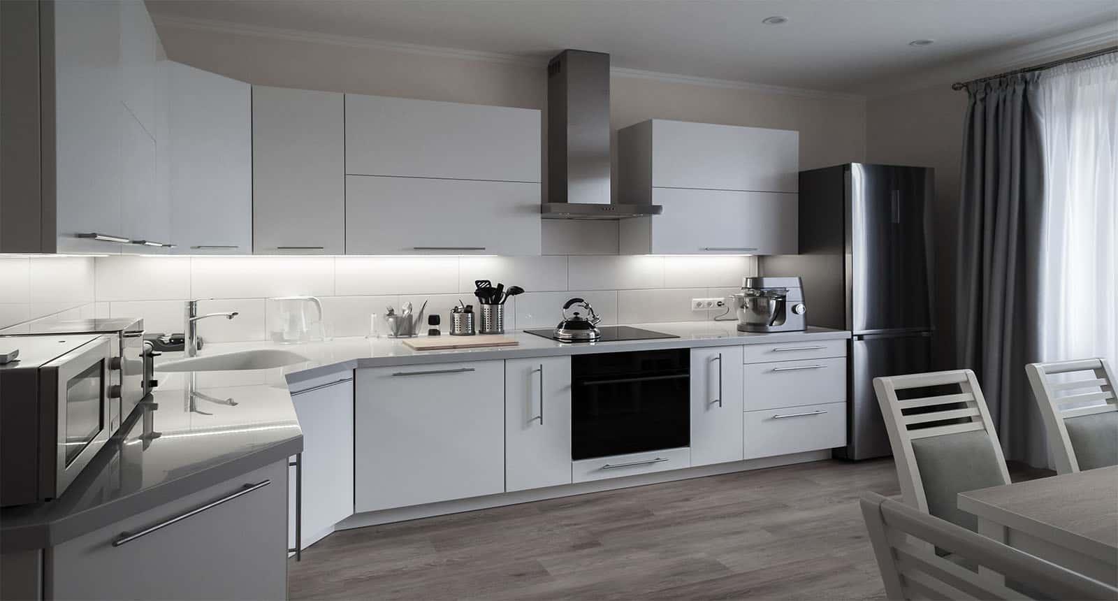 Apartment Kitchen Modern Style
