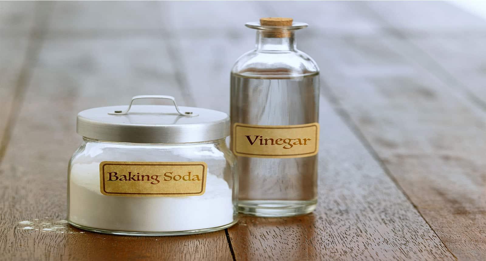 Baking Soda White Vinegar