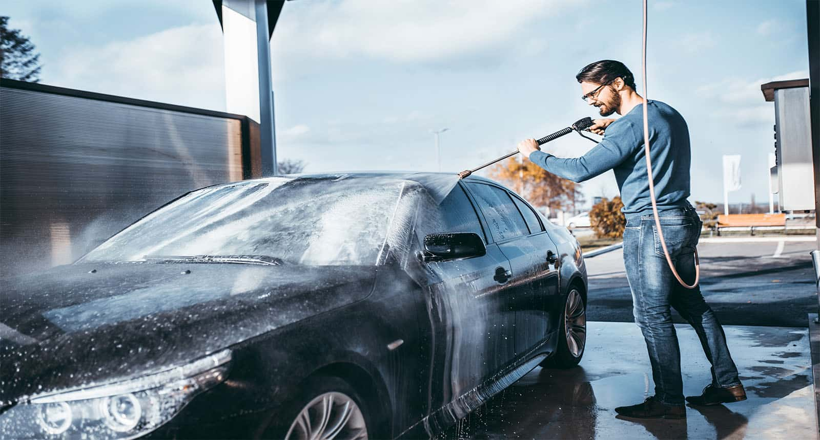 Car Washing Cleaning High Pressure