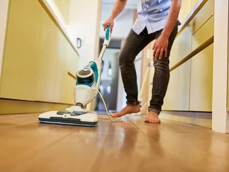 Cleaner Parquet Floor