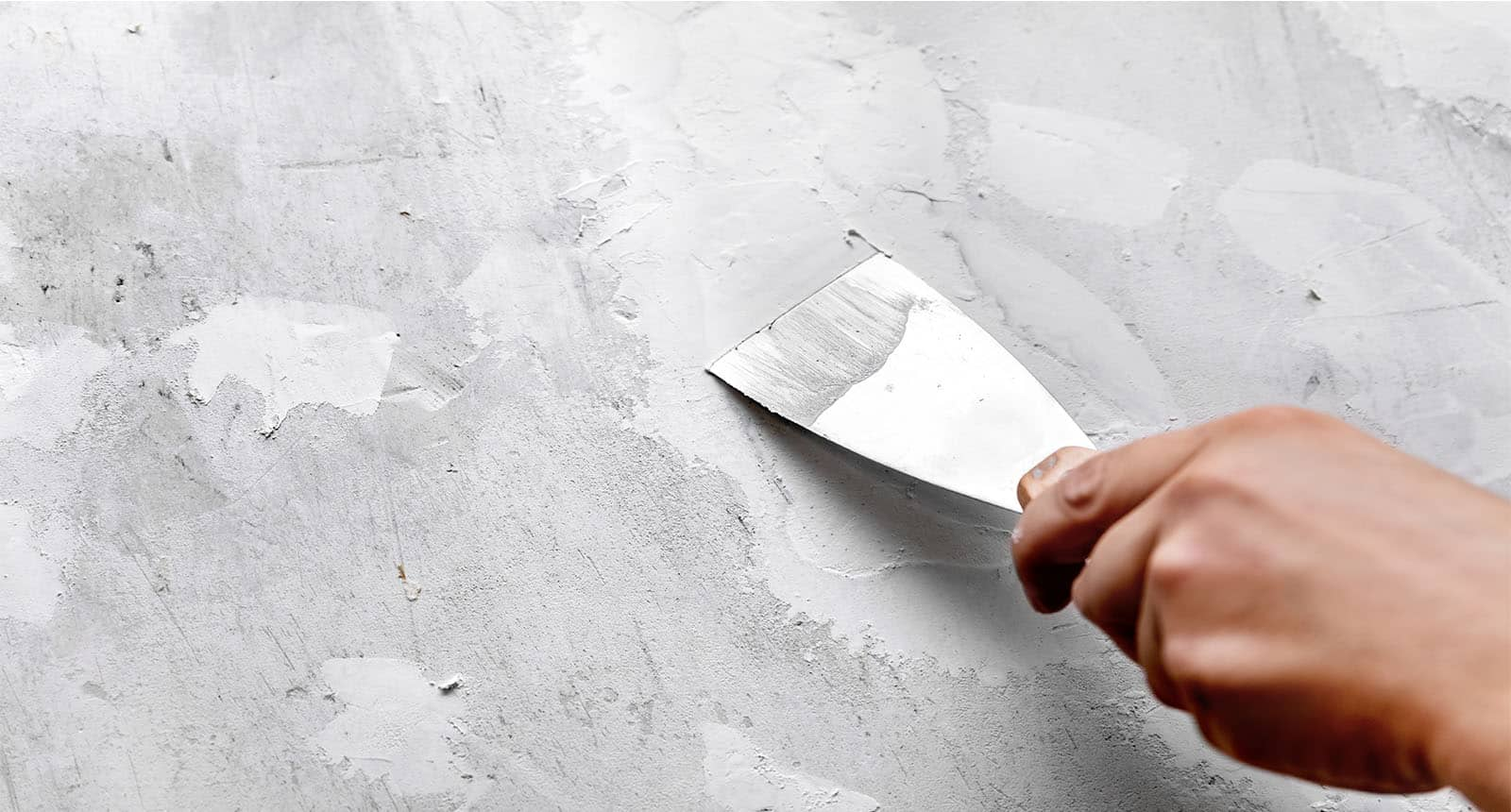 Cracks Wall Filled Filler Gypsum