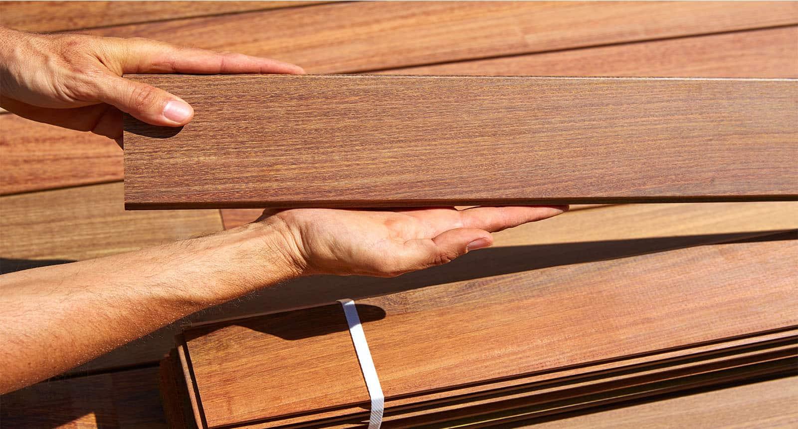 Installation Carpenter Hands Holding