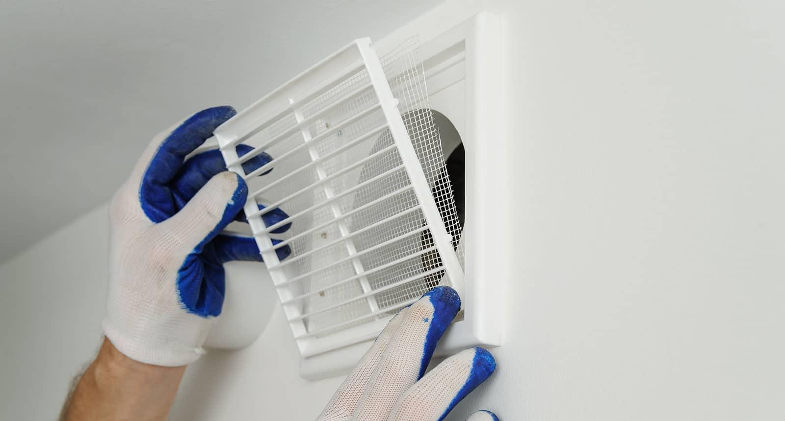 Installs Ventilation Grille