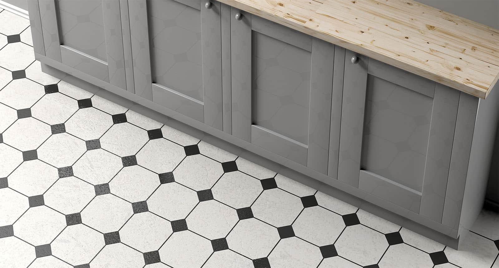 Kitchen Cabinet Black Ceramic