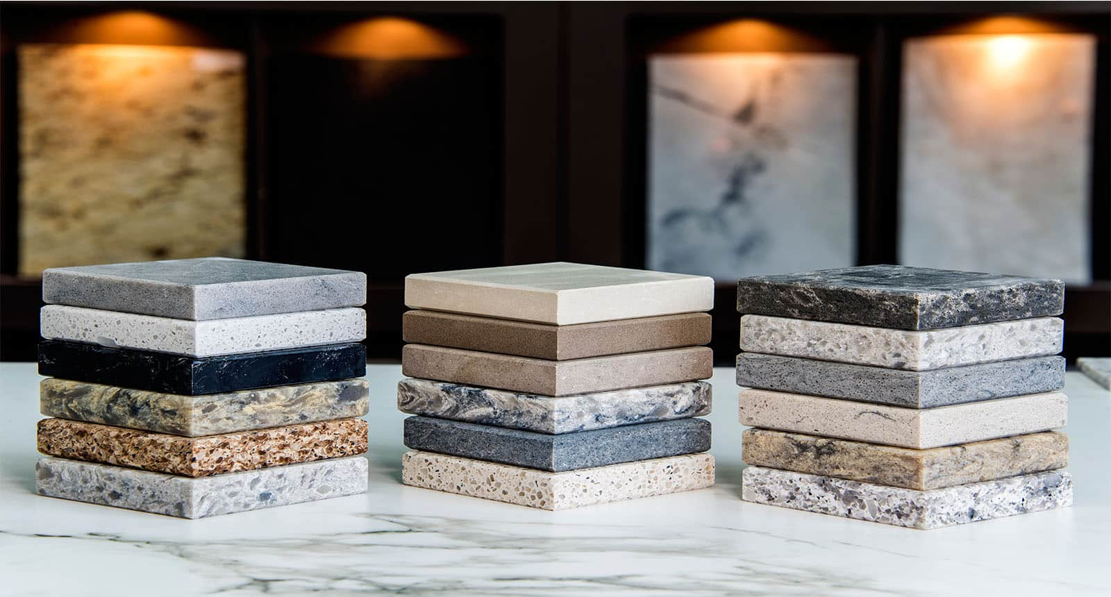 Kitchen Counter Top Color Samples