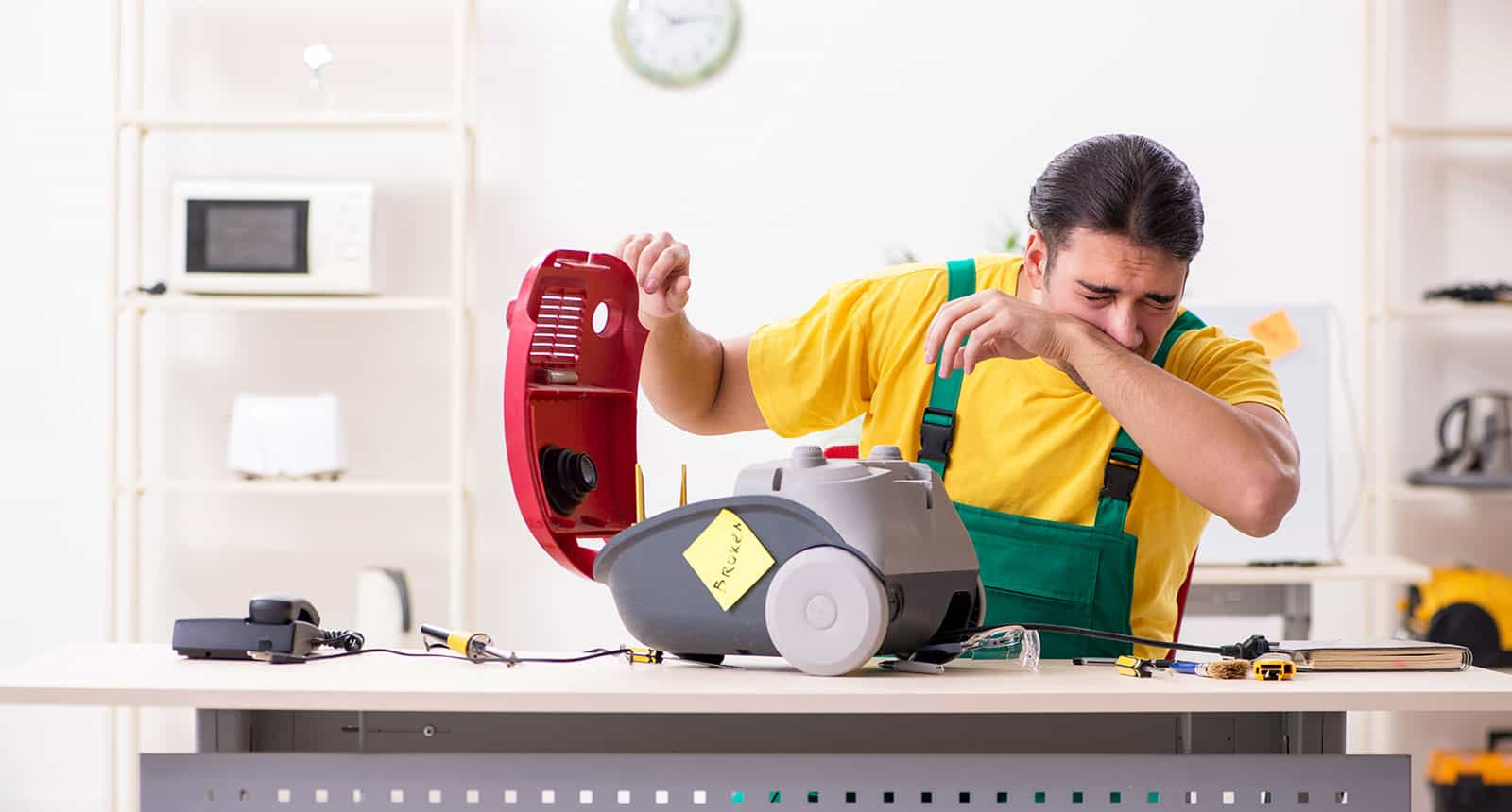 Repairing Vacuum