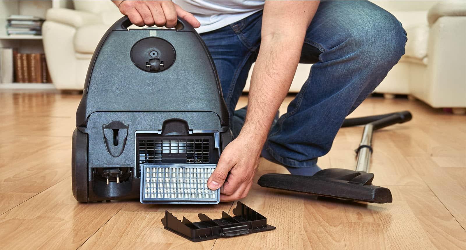 Replacing Air Filter Vacuum-cleaner