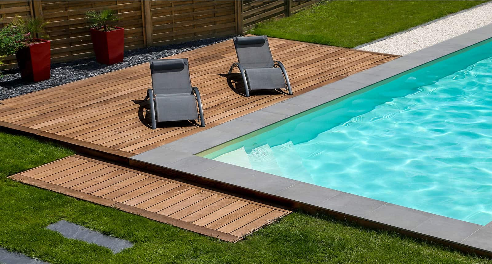 Swimming Pool Exotic Wooden