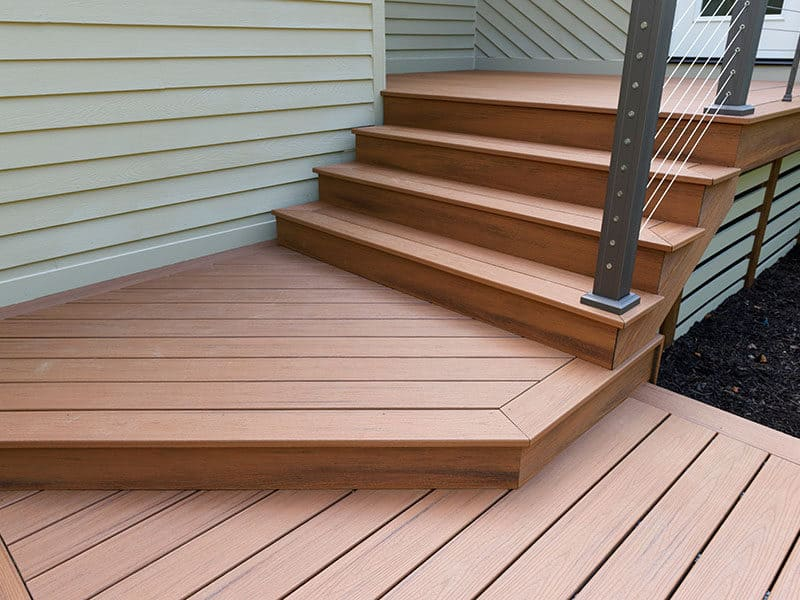 Aluminum Deck for Stairs
